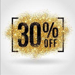 30% off 3+ bundles!